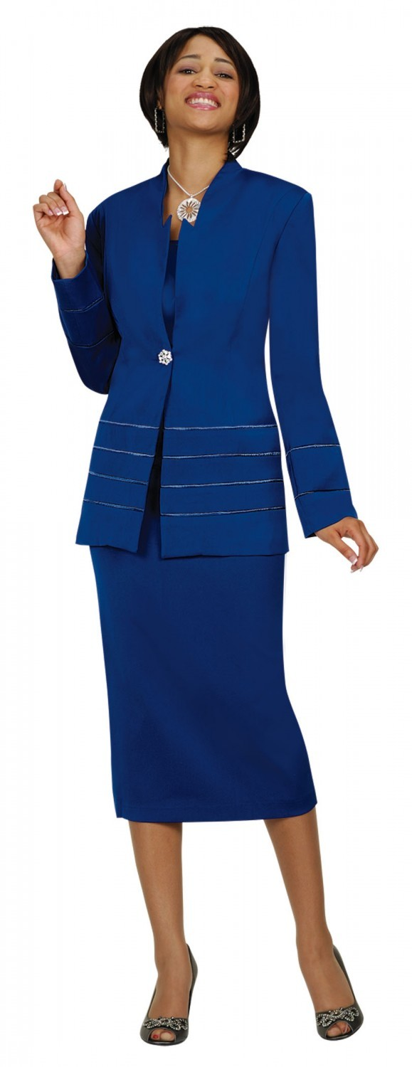 Creative Kaspers Moon Dance Dupioni 3 Piece Skirt Suit Includes Jacket, Shell,&amp Skirt Jacket Features Full Lining, Structured Shoulders, Origami Rosette Detailing, No Close Front, Crew Neck, And Optional Length Sleeves Shell Features Full Lining,