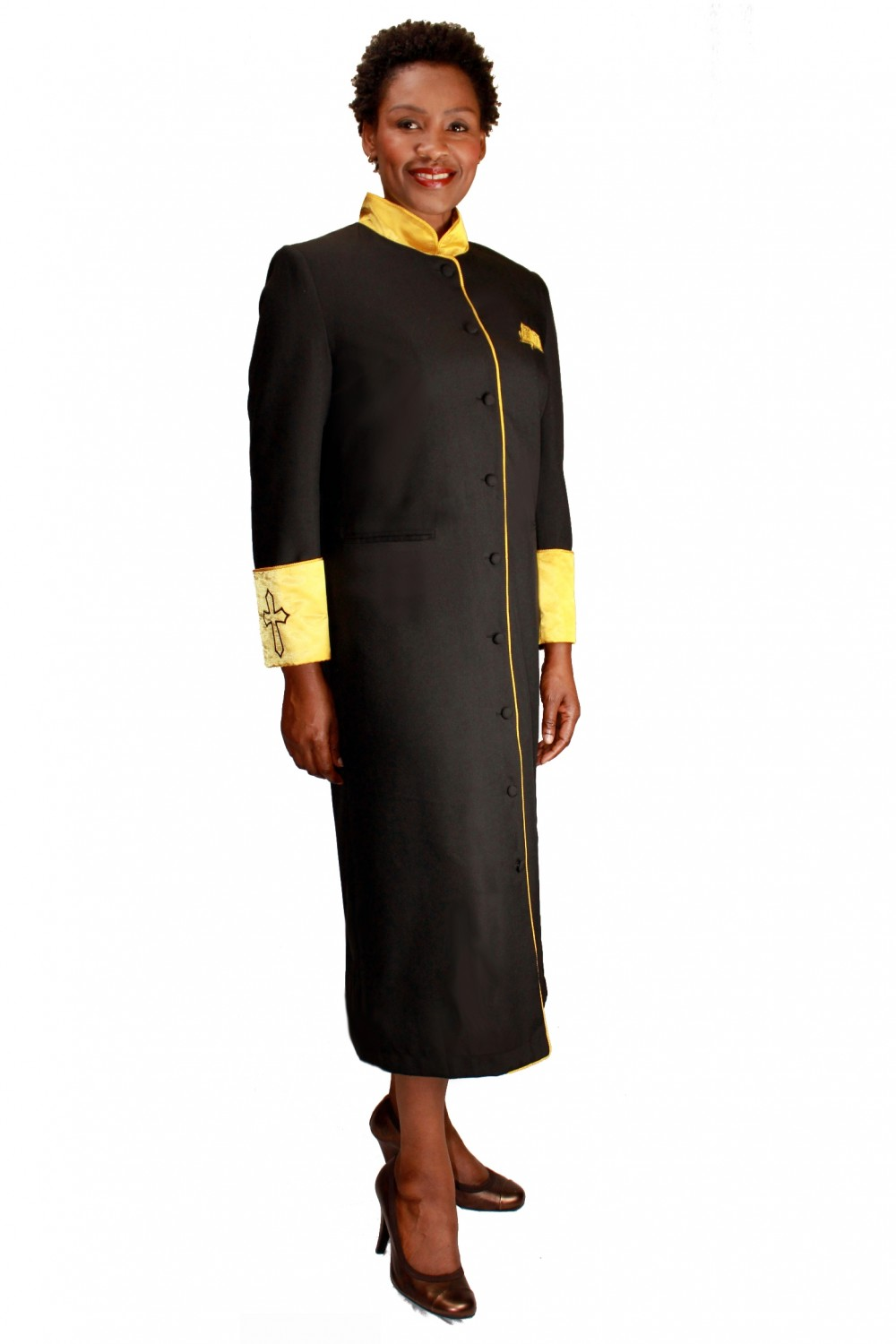 RR9001 | Women's Cassock Robe | Divine Apparal, Inc